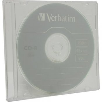 Диск CD-R Verbatim 700Mb 52x speed