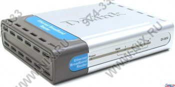 Маршрутизатор D-Link <DI-604> Ethernet Broadband 4-port (4UTP, 10/100Mbps)