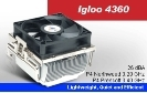 Для процессора Glacial Tech <Igloo 4360> for Socket 478 (26дБ, 2400об/мин, Al)