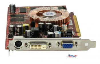 Видеокарта 128 Мб <PCI-E> DDR Micro-Star MS-8981 NX6600-TD128E (OEM) +DVI+TV Out <GeForce 6600>