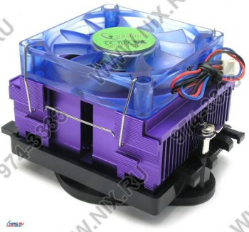 Для процессора Gembird <UNI-1> Cooler for Socket 370/462/478/754/939/940 (30дБ, 3500об/мин, Al)