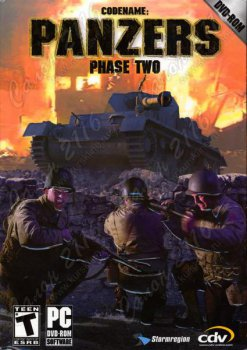 Компьютерная игра Codename: Panzers. Phase Two DVD