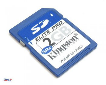 Карта памяти Kingston SecureDigital (SD) Memory Card 2Gb 50x