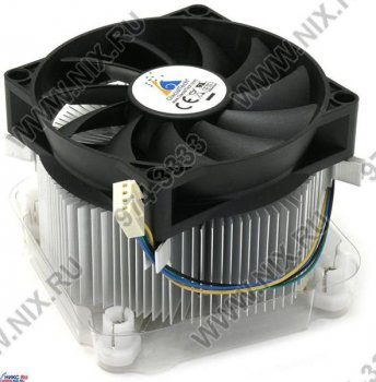 Для процессора Glacial Tech <Igloo 5055/5050 PWM> Cooler for Socket 775 (17-38.5дБ, 800-3800об/мин, Al)