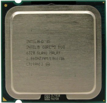 Процессор Intel Core 2 Duo E6320 1.86 ГГц/ 4Мб/ 1066МГц 775-LGA (Ядро Conroe, 2 ядра)