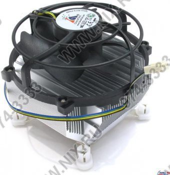 Для процессора Glacial Tech <Igloo 5072 PWM PL (1B1S)> Cooler for Socket 775 (16-37дБ, 800-4500об/мин, Al)