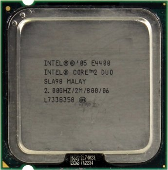 Процессор Intel Core 2 Duo E4400 2.0 ГГц/ 2Мб/ 800МГц 775-LGA