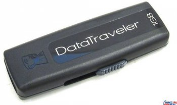 Накопитель USB Kingston DataTraveler 100 <DT100/1GB> USB2.0 Flash Drive 1Gb (RTL)