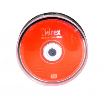Диск DVD+R Mirex 4.7Gb 16x (уп. 25 шт.) на шпинделе