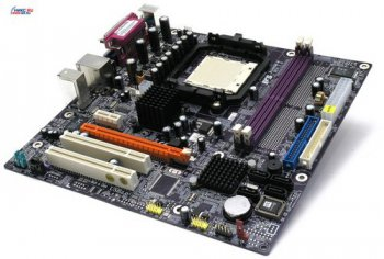Материнская плата EliteGroup RS485M-M rev1.0 (RTL) SocketAM2<ATI XPRESS 1100>PCI-E+SVGA+LAN SATA RAID U133 MicroATX 2DDR-II