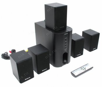 Колонки Defender Hollywood 35 Black Speaker System (5колонок+Subwoofer, ПДУ) (45w)