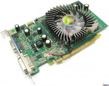 Видеокарта 512 Мб <PCI-E> DDR-2 Point of View <GeForce 8600GT> (RTL) +DVI+TV Out+SLI