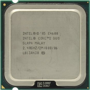 Процессор Intel Core 2 Duo E4600 2.4 ГГц/ 2Мб/ 800МГц 775-LGA