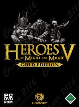 Компьютерная игра Heroes of Might and Magic V. Gold edition DVD