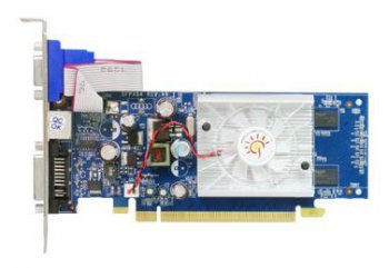 Видеокарта PCI-E NV GF8400GS 256 Мб 64bit DDR2 TV+DVI SF-PX84GS256U2-HP [Sparkle] sRTL