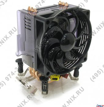 Для процессора CoolerMaster <RR-CCH-L9U1-GP> Hyper TX2 Cooler for Socket 775/754/939/940/AM2 (22дБ,1800 об/мин, Cu+Al+теп.трубки)