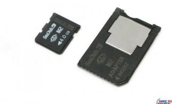 Карта памяти SanDisk Memory Stick Micro M2 4Gb + M2-->MS DUO Adapter