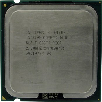 Процессор Intel Core 2 Duo E4700 2.6 ГГц/ 2Мб/ 800МГц 775-LGA