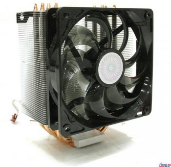 Для процессора CoolerMaster <RR-CCH-LB22-GP> Hyper 212 Cooler for Socket 775/754/939/940/AM2 (19дБ,2000 об/мин, Cu+Al+теп.трубки)