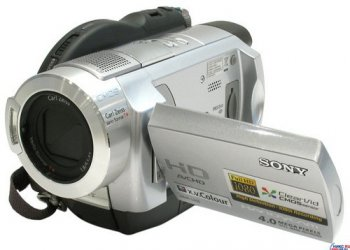 "Видеокамера SONY HDR-UX5E Digital HD Handycam Video Camera (DVD-R/-RW/+RW/+R DL, 2.1 Mpx, 10x, ДУ, стерео, 2.7"", MS Duo, USB2.0/HDMI)"