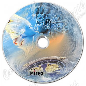 Диск DVD+R Mirex DVD-aRt New Horizons 4.7Gb 16x (портмоне 10 шт.)