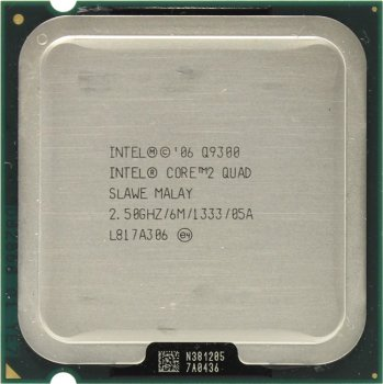 Процессор Intel Core 2 Quad Q9300 2.5 ГГц/ 6Мб/ 1333МГц 775-LGA