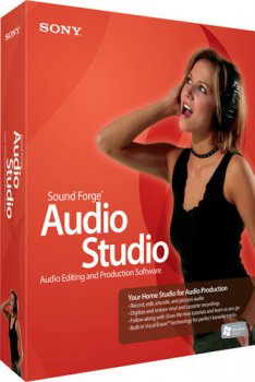 Программное обеспечение Sony Sound Forge Audio Studio™ 9	SFAS9000	English