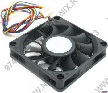 DC FAN 7x7х1.5см CoolerMaster <SFA7015LB-12P(A7015-25AB-4DP)> for m/tower (SMART, 70x70x15mm, 4pin)