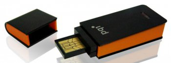 Накопитель USB PQI 16Gb USB2.0 i221 Black&Orange