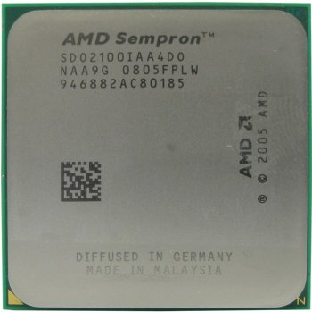Процессор AMD SEMPRON 2100+ (SDO2100) 512K/ 1600МГц Socket AM2