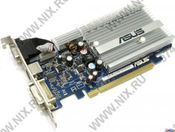 Видеокарта 256 Мб <PCI-E> DDR-2 ASUS EN8400GS SILENT/HTP/256M (RTL) +DVI+TV Out <GeForce 8400GS>