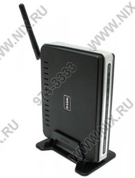 Маршрутизатор D-Link <DIR-320> Wireless G Router (4UTP 10/100 Mbps,1WAN,USB,802.11b/g)