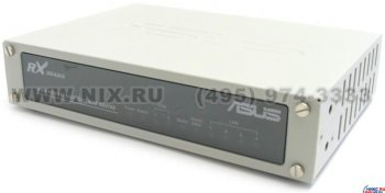Маршрутизатор ASUS RX3042H High Performance Dual WAN Router (4port 10/100 Mbps, WAN+WAN/DMZ, 2xUSB2.0) + Б.П.