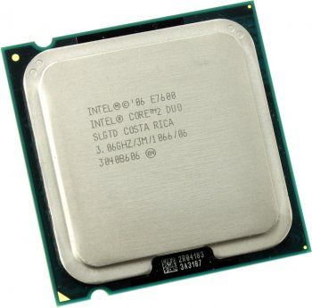 Процессор Intel Core 2 Duo E7600 3.06 ГГц/ 3Мб/ 1066МГц LGA775