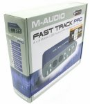 Звуковая карта M-Audio Fast Track PRO (RTL) 2xIn/6xOut, Coaxial In/Out, MIDI In/Out, 24Bit/96kHz, U