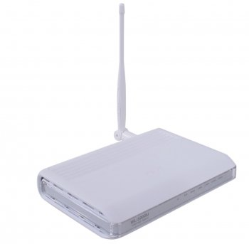 Маршрутизатор ASUS WL-520GU 125M Broad Range EZ Wireless Router (RTL) (4UTP 10/100Mbps, 1WAN, USB2.0, 802.11b/g)