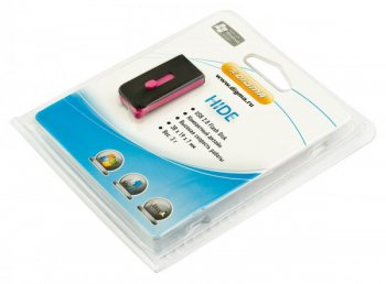 Накопитель USB Digma 8Gb Hide USB2.0 Black&Pink