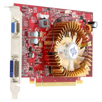 Видеокарта 1024 Мб PCI-E DDR2 MSI ATI R4650-MD1G D2 R4650 TV+DVI RTL