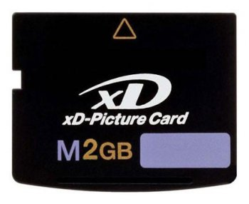 Карта памяти XD-Picture Card 2Gb M-Type Transcend (TS2GXDPCM)