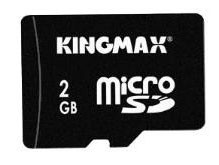Карта памяти Micro SD 2Gb + Card Reader Kingmax