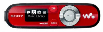 Плеер MP3 Sony NWZB142FR 2Gb red