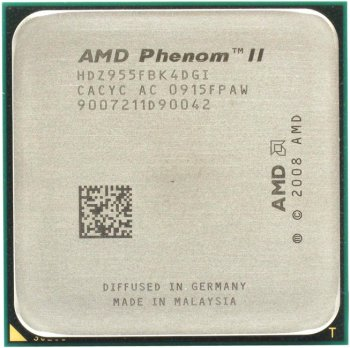 Процессор AMD Phenom II X4 955 Black Edition (HDZ955F) 3.2 ГГц/ 2+6Мб/4000 МГц Socket AM3