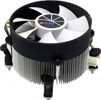 Вентилятор TITAN <TTC-NA02TZ/RPW> Cooler for Socket 1156 (12-31дБ, 4pin, Al)