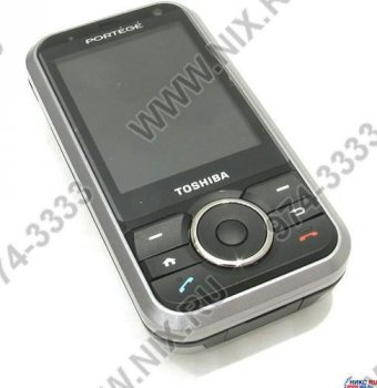 Смартфон КПК Toshiba Portege G500 (TriBand, 320x240@64k, EDGE+BT+WiFi,MiniSD, MP3/MPEG4 player, видео, 135г.)