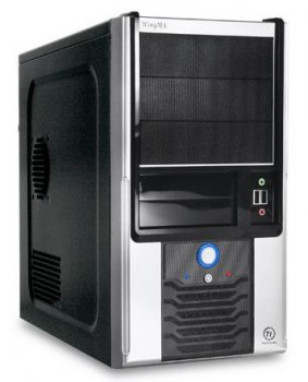 Корпус Miditower Thermaltake VI5000BNS Wing MA Black w/o PSU mATX SECC Double Packing