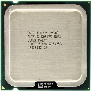 Процессор Intel Core 2 Quad Q9500 2.83 ГГц/ 6Мб/ 1333МГц LGA775