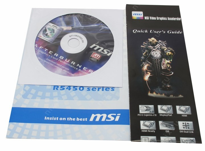 MSI R5450-MD1GH DRIVER FOR WINDOWS