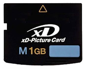 Карта памяти XD-Picture Card 1Gb M-Type Transcend (TS1GXDPCM)