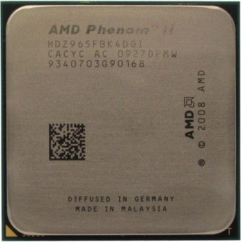 Процессор AMD Phenom II X4 965 Black Edition (HDZ965F) 3.4 ГГц/ 2+6Мб/4000 МГц Socket AM3
