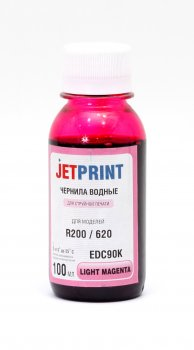 Чернила Jet-Print для Epson R200/R300 QuickDry Light Magenta водные 0.1л